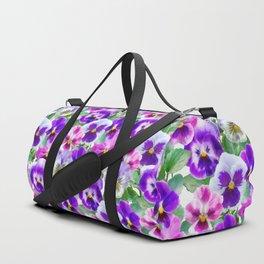 Bouquet of violets II Duffle Bag
