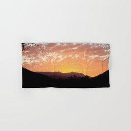 Bright Sunset Hand & Bath Towel