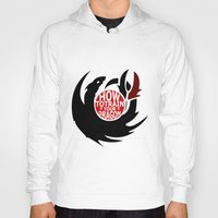 how to train your dragon Hoodies featuring How To Train Your Dragon (Hiccup's Shield) by KitsuneDesigns