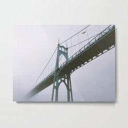 St. John's Bridge Metal Print