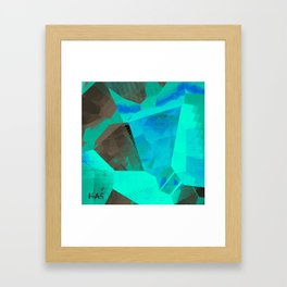 Textures Four Version Two Framed Art Print