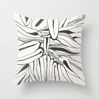 60s Throw Pillows featuring 60s by Dreamy Me