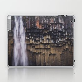 Waterfall and Basalt Rocks Laptop & iPad Skin