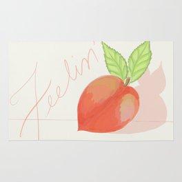 Feeling peachy Rug