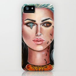 Memories of Dali Fantasy Surrealism by Laurie Leigh iPhone Case