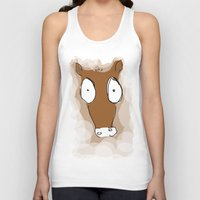 donkey Tank Tops featuring Donkey by Frances Roughton