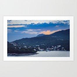 Dubrovnik Sunset II Art Print