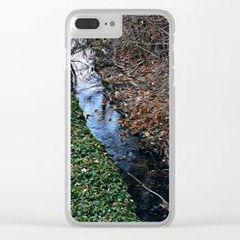 Brook Clear iPhone Case