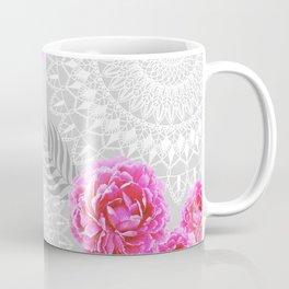Mandalas and peonies n.1 Coffee Mug