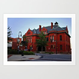 Old City Hall Building Art Print