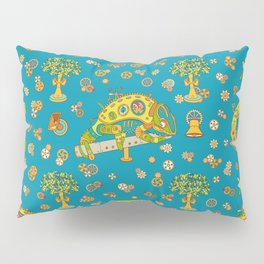 Chameleon, cool wall art for kids and adults alike Pillow Sham