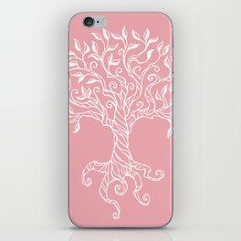 Tree of Life Pink iPhone Skin