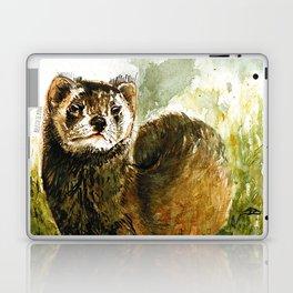 European Polecat realistic (c) 2017 Laptop & iPad Skin