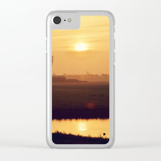 City Sunlight #4 Clear iPhone Case