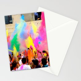 Holi Open Air Festival Berlin Stationery Cards