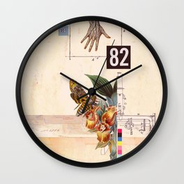 a handful of evolution Wall Clock