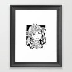 Chiyo Framed Art Print