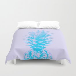 ananas feeling blue Duvet Cover