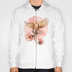 Bird&flowers Hoody
