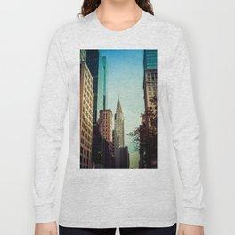 nyc towers Long Sleeve T-shirt