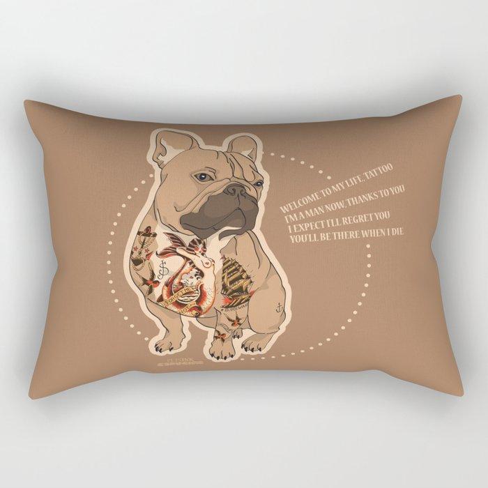 Pets Ink - JS Rectangular Pillow