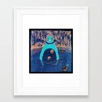 bath Framed Art Prints featuring Bath by Pieter Vandenabeele