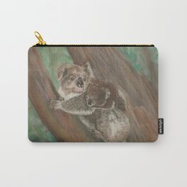 Koala Love with Joey Carry-All Pouch