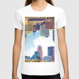 Twin Cities Minneapolis and Saint Paul T-shirt