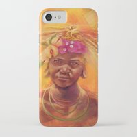 spice iPhone & iPod Cases featuring Spice Kid by The Art of Vancuf