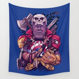 Wild Thanos Wall Tapestry