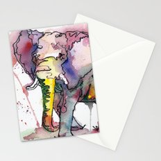 I'd rather be an elephant Stationery Cards
