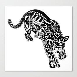 Señor Jaguar Canvas Print