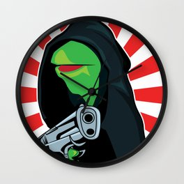 Gangster Kermit Wall Clock