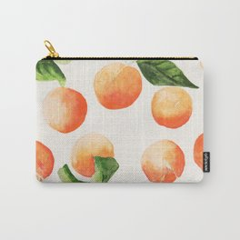 Satsumas Watercolor Painting Carry-All Pouch