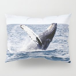 Humpback Whale Ocean Pillow Sham