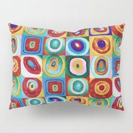 Colorful circles tile Pillow Sham