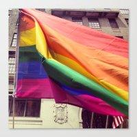 pride Canvas Prints featuring Pride by kirstenariel