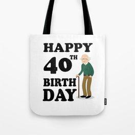 FUNNY OLD | 1978 Birthday Shirt Tote Bag