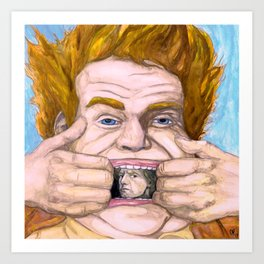 """Holy Schnikes!"" by Cap Blackard Art Print"