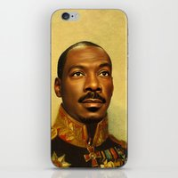 replaceface iPhone & iPod Skins featuring Eddie Murphy - replaceface by replaceface