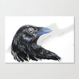 RHX Raven Logo Canvas Print