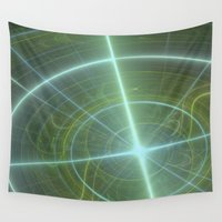compass Wall Tapestries featuring Compass by C Juarez