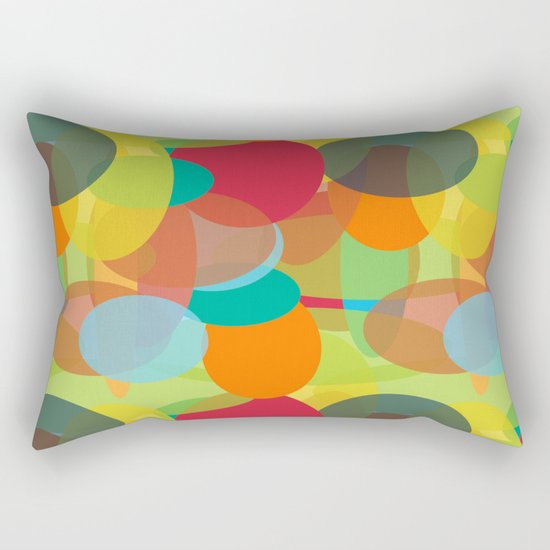 Vivid Mood Rectangular Pillow