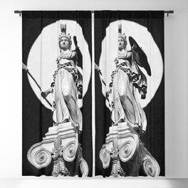 Goddess Athena Blackout Curtain