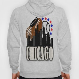 CHICAGO SPORTS TOWN USA  Hoody