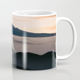 CLOUDY MOUNTAINS Coffee Mug