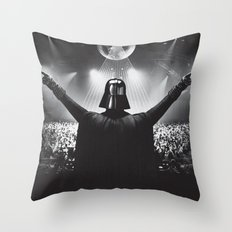 Darth Vader rocks the party Throw Pillow