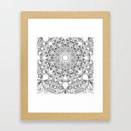 pillow thang Framed Art Print