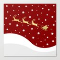 Red Christmas Santa Claus by absentisdesigns