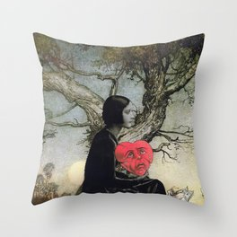 Miss Empathy  Throw Pillow